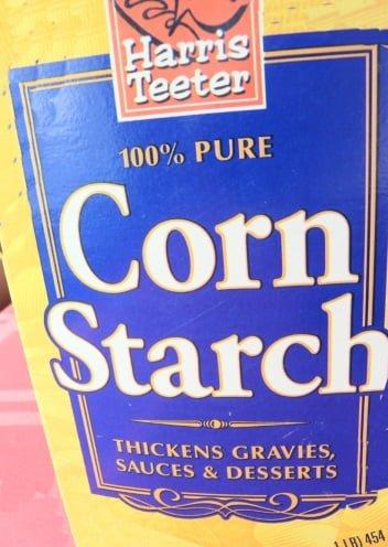 cornstartch lubricant diy recipe and natural health benefits