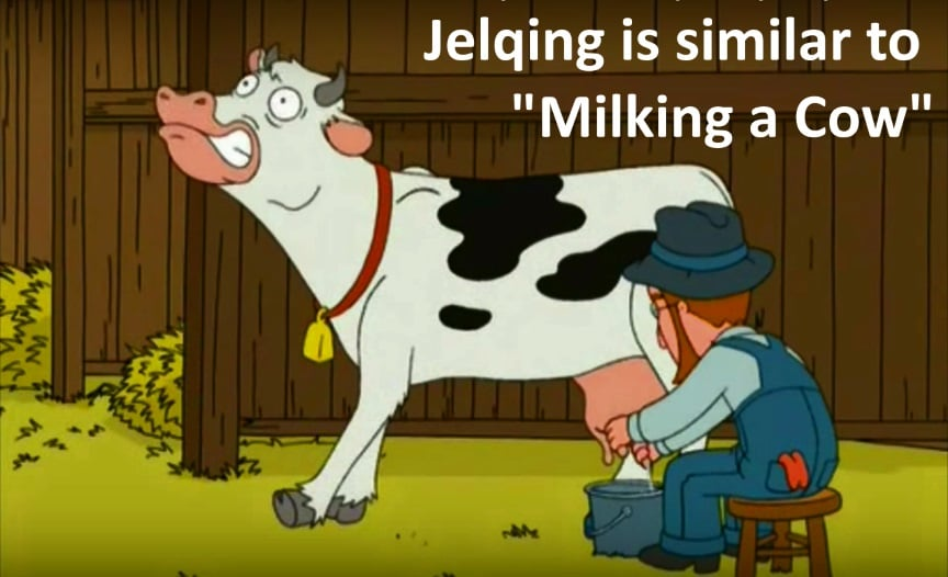Do properly jelqing to how V Jelqing: