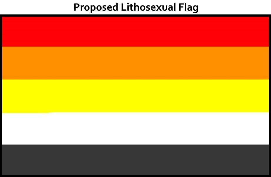 Lithosexual Definition