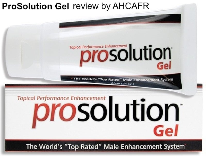 Prosolution Gel Customer Reviews And Side Effects 2018