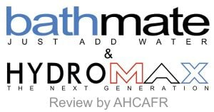 Logos of AHCAF for Bathmate and Hydromax