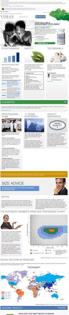 Vimax-Pills-website-screenshot