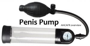 penis pump sample