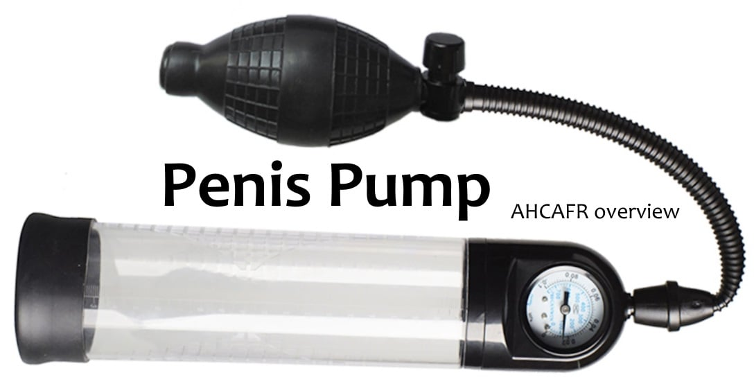 All You Need To Know About Penile Pumps