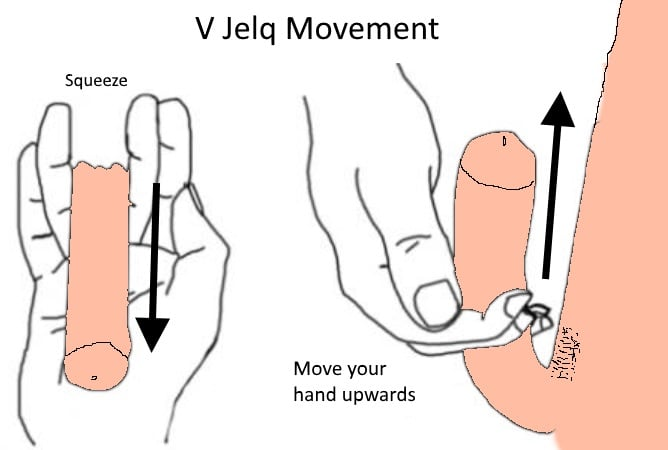 hand movement upwards