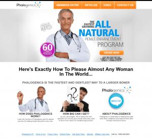 Phalogenics homepage