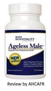 ageless male bottle packaging