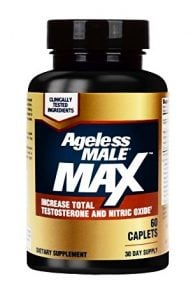 ageless male max bottle packaging