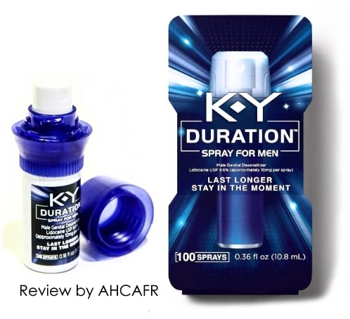 Ky duration spray side effects