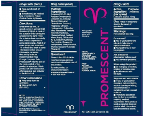 promescent label