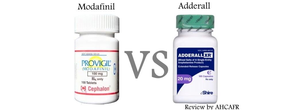 modafinil and adderall comparison