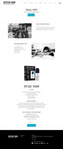 stud 100 official website homepage