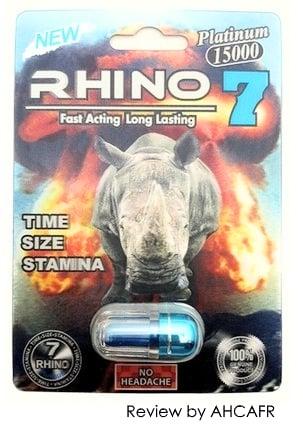 Rhino 7 Pills Complete Overview Customer Feedback