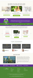 leading edge health homepage