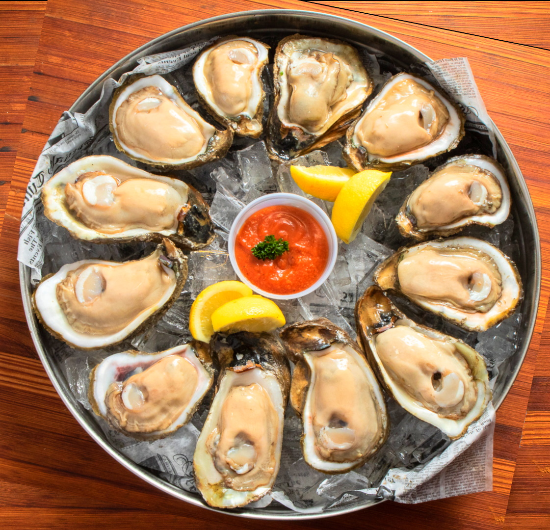 Oysters and other shellfish to treat ED and boost Testosterone